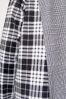 Comme des Garcons Homme Plus Checked asymmetrical shirt