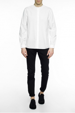 Band collar shirt od Acne