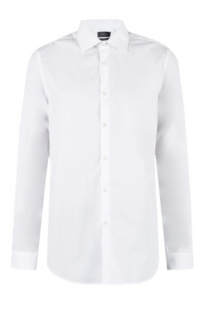 White cotton shirt od Paul Smith