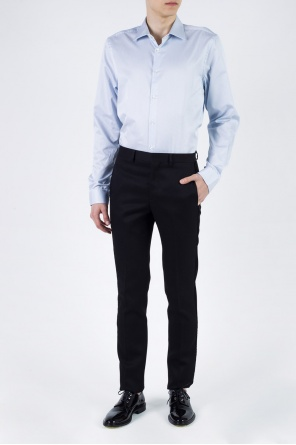 Pinstriped cotton shirt od Paul Smith