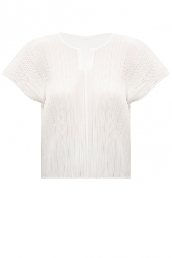 Issey Miyake Pleats Please Pleated top