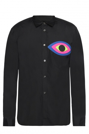 Shirt with rubber patch od Comme des Garcons Homme Plus