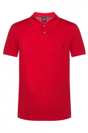 Embroidered polo od Paul Smith