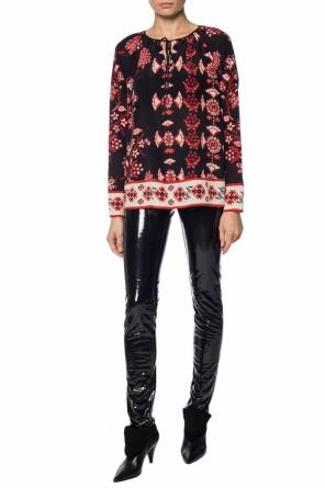 Printed top od Valentino Red