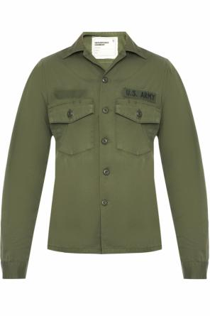 Shirt with patch od R13
