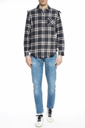 Oversize checked shirt od R13