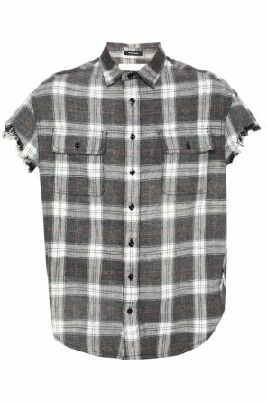 Oversize shirt with short sleeves od R13