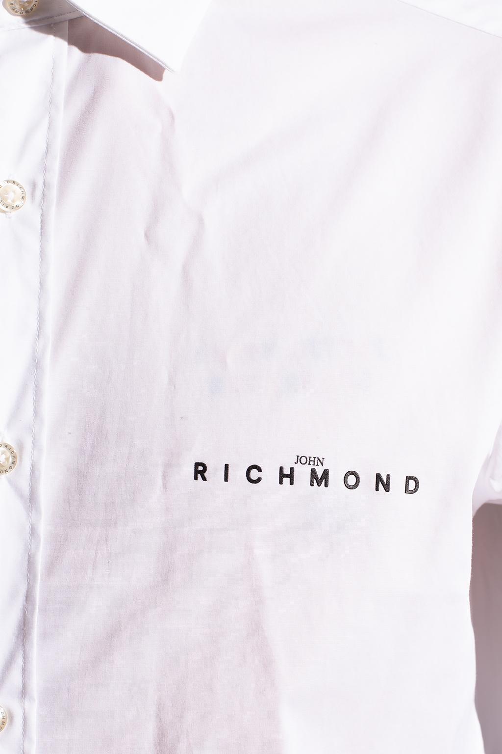 John Richmond Logo-printed shirt