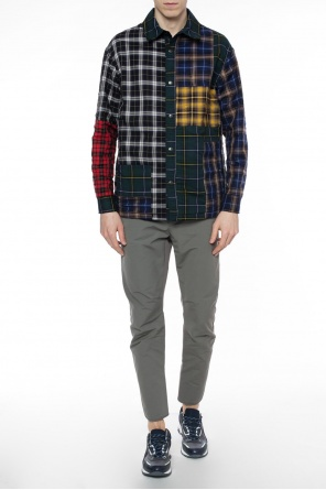 Reversible checked shirt od Lanvin