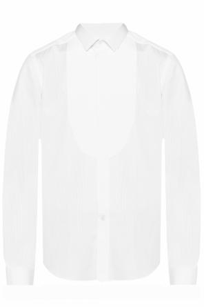 Pleated plastron shirt od Lanvin