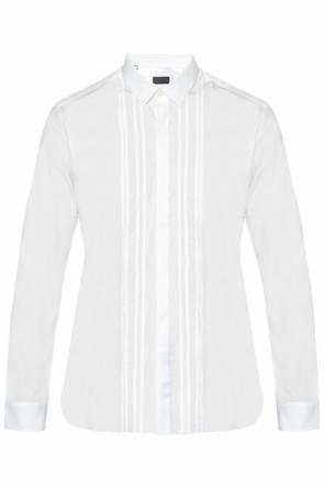 Decorative stitching shirt od Lanvin