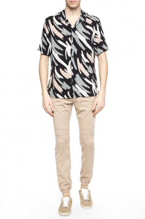 'rope' printed shirt od AllSaints