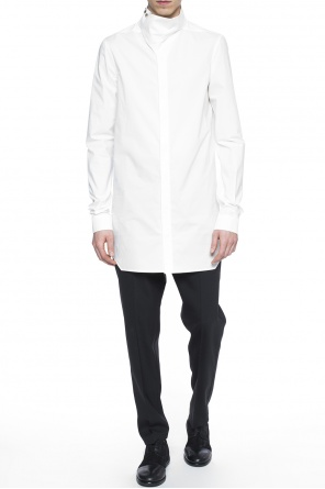 Shirt with decorative collar od Rick Owens