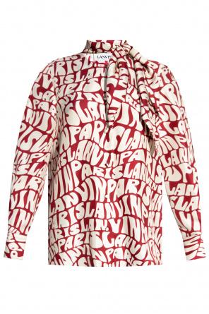 Silk shirt od Lanvin