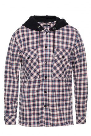 Shirt with a plaid pattern od Diesel