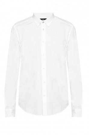 Logo-embroidered shirt od Diesel