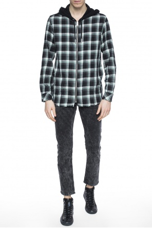 Checked sweatshirt od Diesel