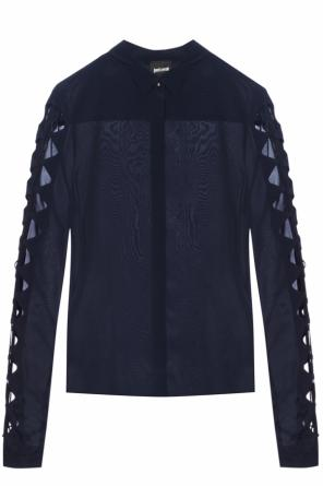 Shirt with cut-out sleeves od Just Cavalli