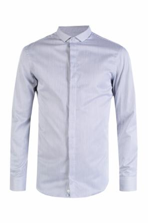 Pinstriped cotton shirt od Emporio Armani