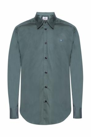 Logo-embroidered shirt od Vivienne Westwood