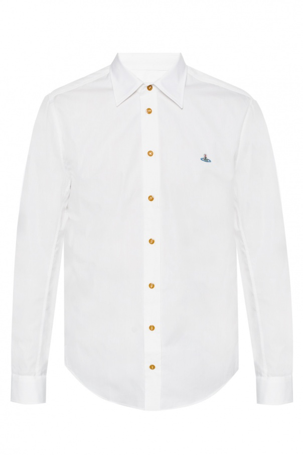 Vivienne Westwood Logo-embroidered shirt