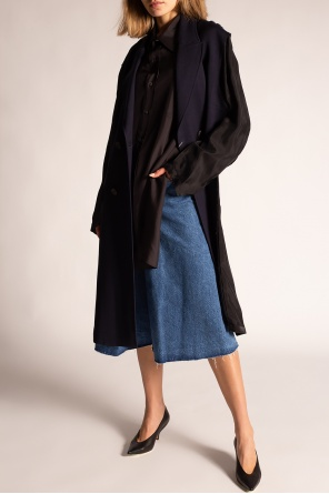 Silk shirt with logo od Maison Margiela