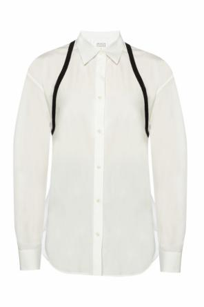 Shirt with sewn stripes od Maison Margiela