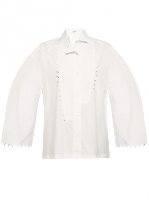 Loewe Asymmetrical shirt with logo