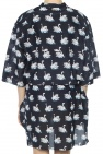 Swan motif dress od Stella McCartney