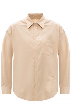 Shirt with logo od MM6 Maison Margiela