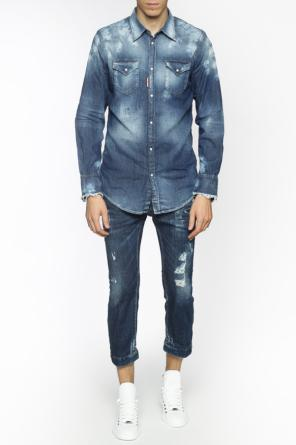 Shaded denim jacket od Dsquared2