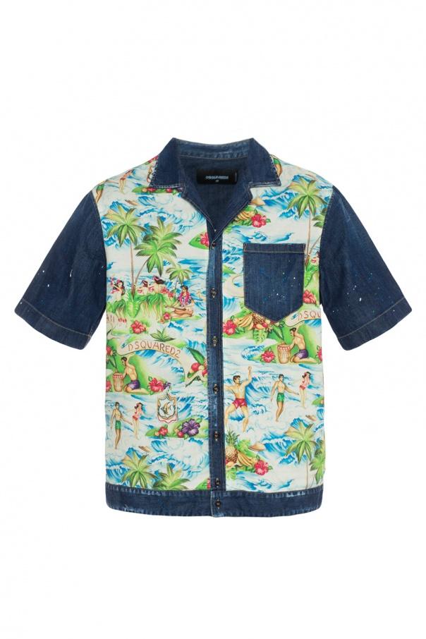 d4e80cf1 Denim shirt Dsquared2 - Vitkac shop online