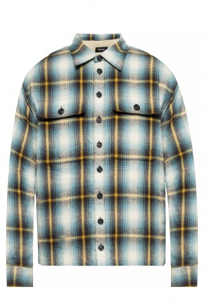 Insulated check shirt od Dsquared2