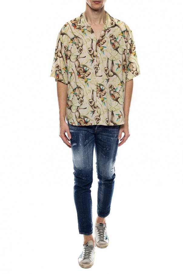 Dsquared2 Koszula z krótkimi rękawami Ij0RCpPn