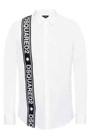 Logo-embroidered shirt od Dsquared2