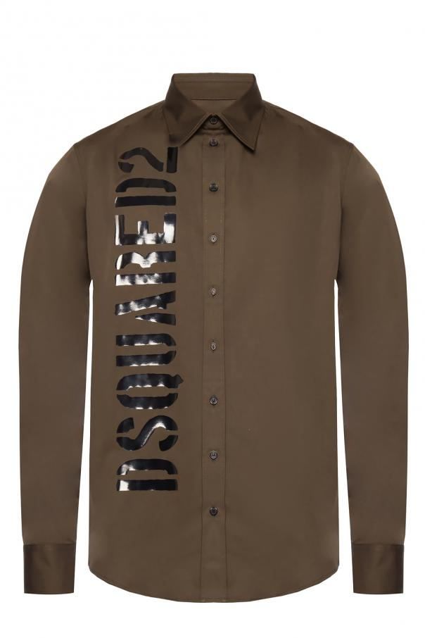 Logo-printed shirt od Dsquared2
