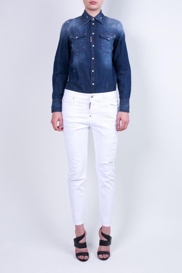 a128e91ea35 Denim Shirt Dsquared2 - Vitkac shop online