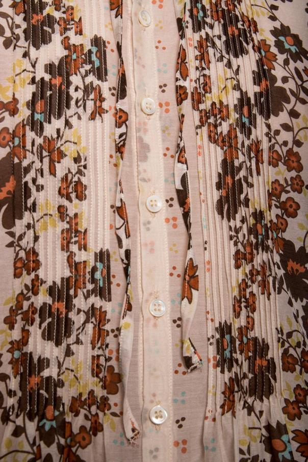 Dsquared2 Wzorzysta koszula z wiązaniem na szyi 9jt1m8Sz