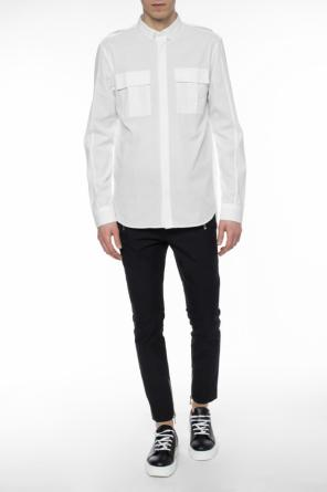 Shirt with slits od Balmain