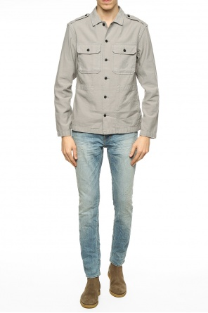 Shirt with epaulettes od Allsaints
