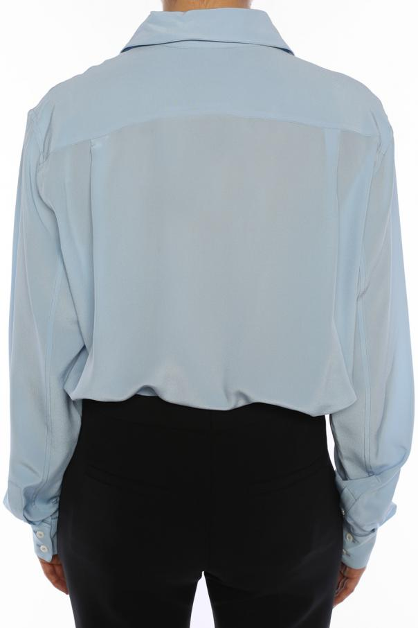 Silk shirt with pocket od Victoria Beckham