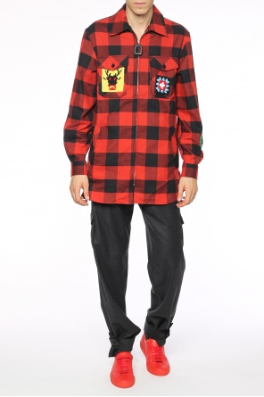Checked shirt od J.W. Anderson