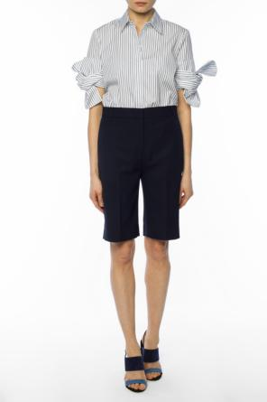 Striped shirt with laces od Victoria Victoria Beckham