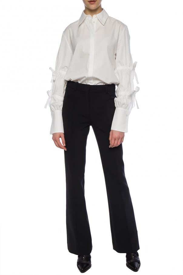 Shirt with drawstring sleeves od Victoria Victoria Beckham