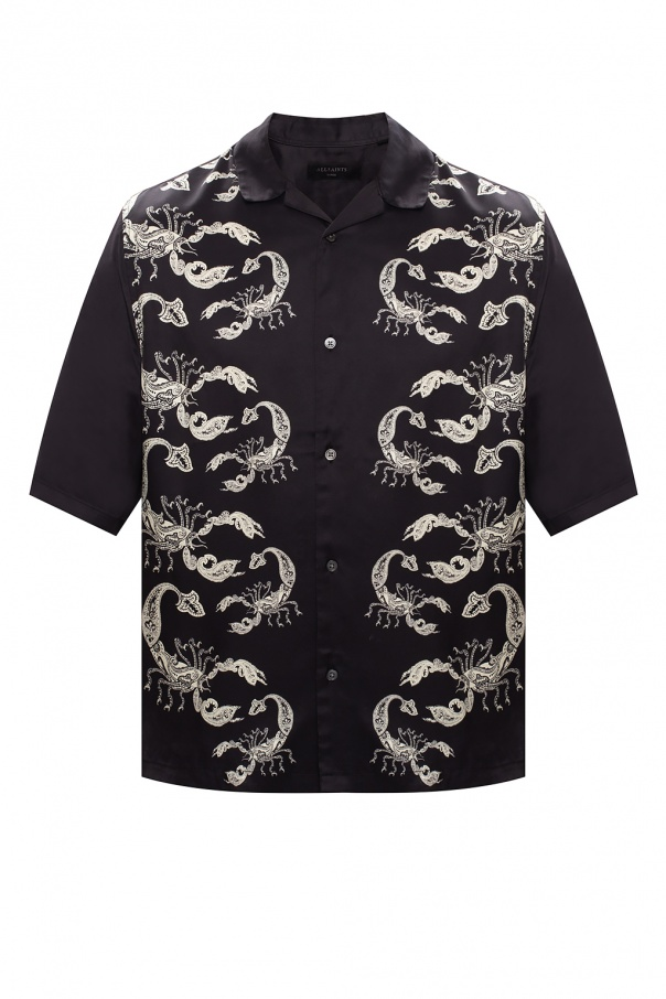 AllSaints 'Skorpio' short-sleeved shirt