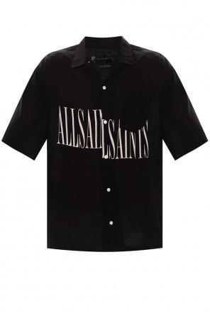 'stamp' short-sleeved shirt od AllSaints