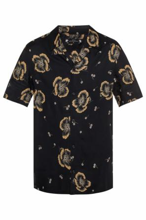 'sumire' patterned shirt with short sleeves od AllSaints