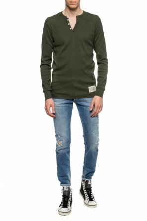 Patched long sleeve t-shirt od Diesel