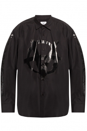 Shirt with logo od VETEMENTS