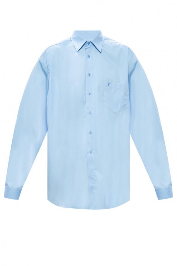 Vetements Oversize shirt with pocket